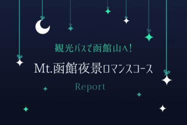 【徹底レポ】Mt.函館夜景ロマンスコースの予約方法・出発から帰宿まで!